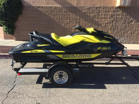 2016 Sea-Doo GTR 215 in Albuquerque, New Mexico