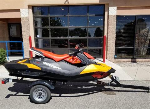 2018 Sea-Doo Spark 3up Trixx iBR in Albuquerque, New Mexico