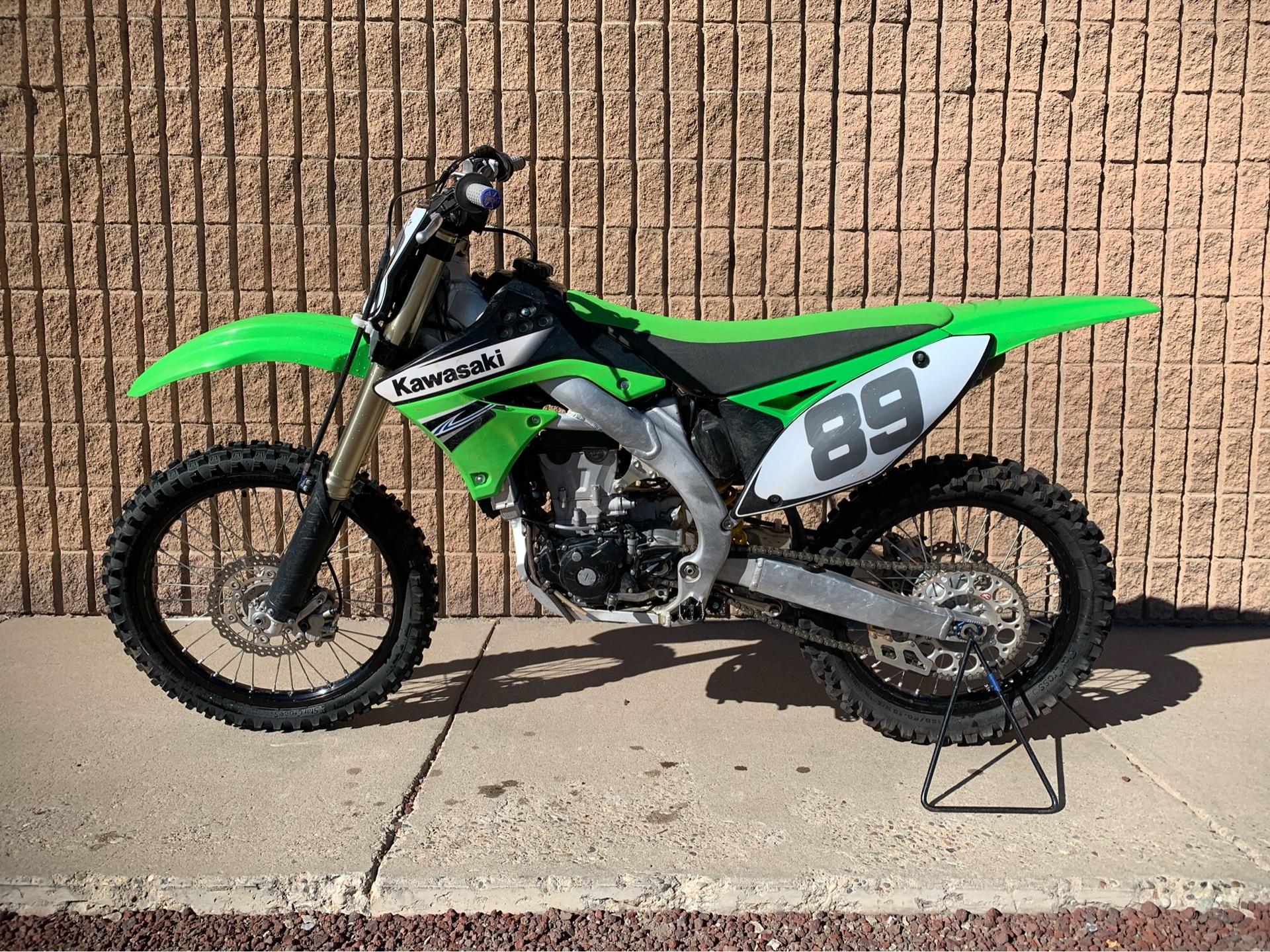 2011 Kawasaki KX450F 4