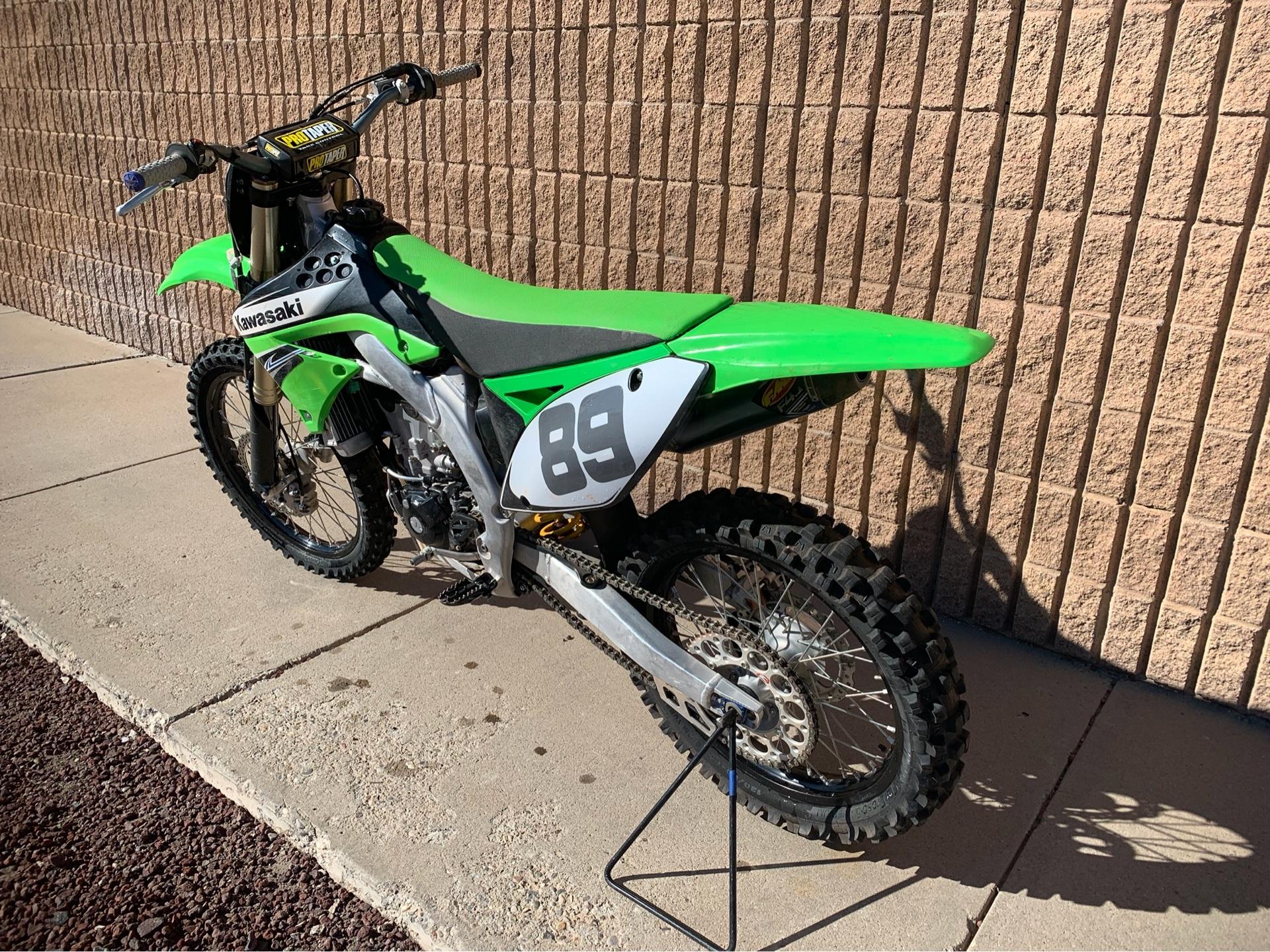 2011 Kawasaki KX450F 5
