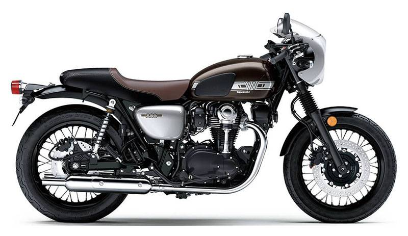 2019 Kawasaki W800 Cafe in Albuquerque, New Mexico - Photo 1