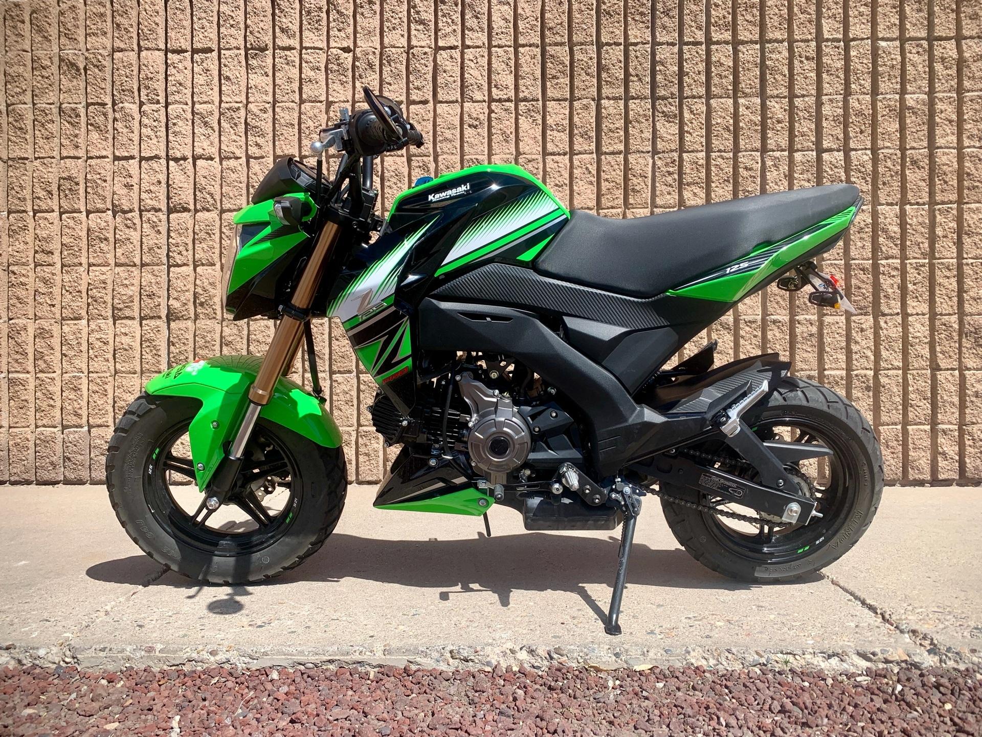 2017 Kawasaki Z125 Pro Krt Edition Motorcycles Albuquerque New Mexico