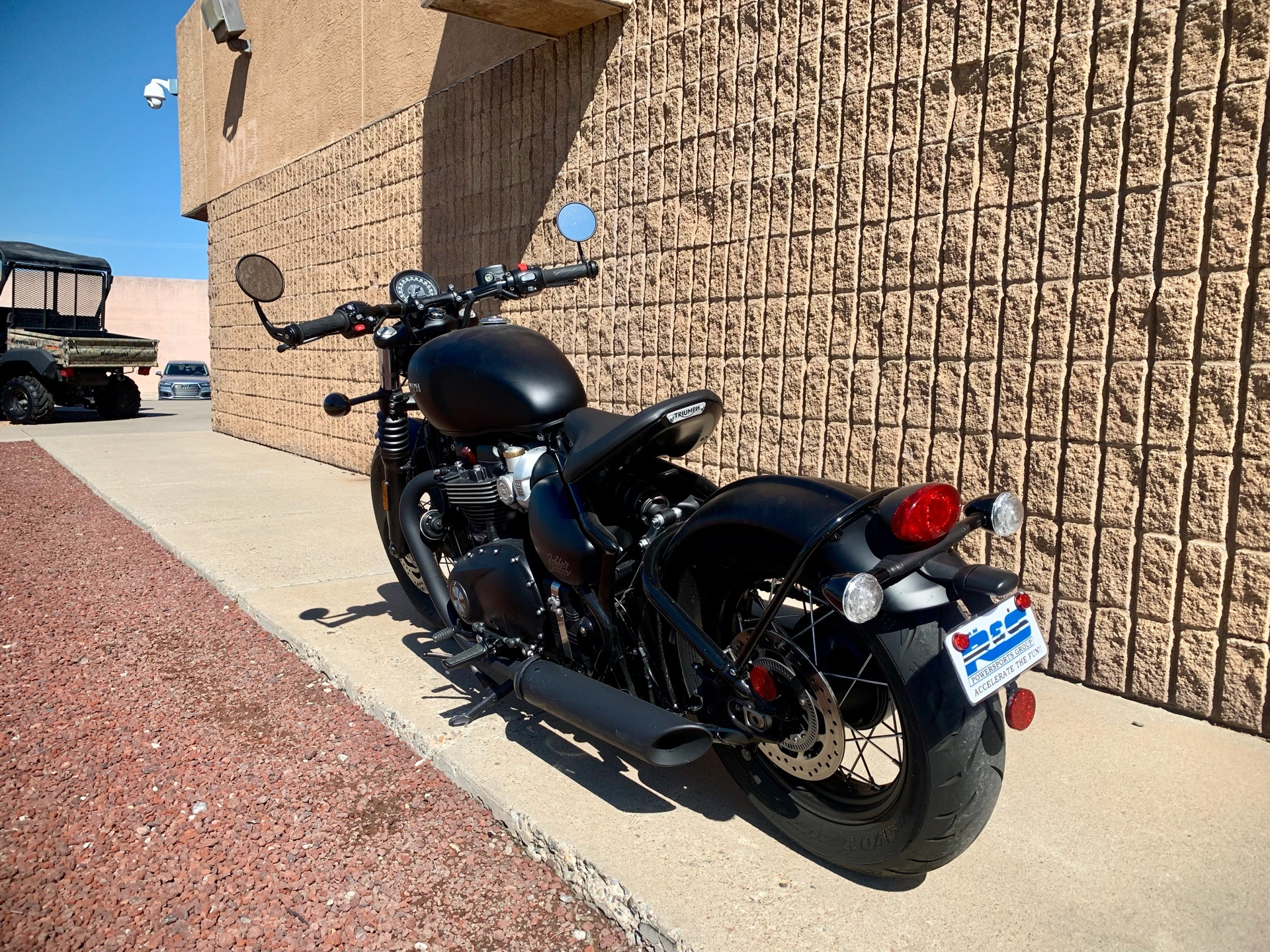 2018 Triumph Bonneville Bobber in Albuquerque, New Mexico - Photo 5