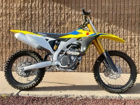 2018 Suzuki RM-Z450 in Albuquerque, New Mexico - Photo 1