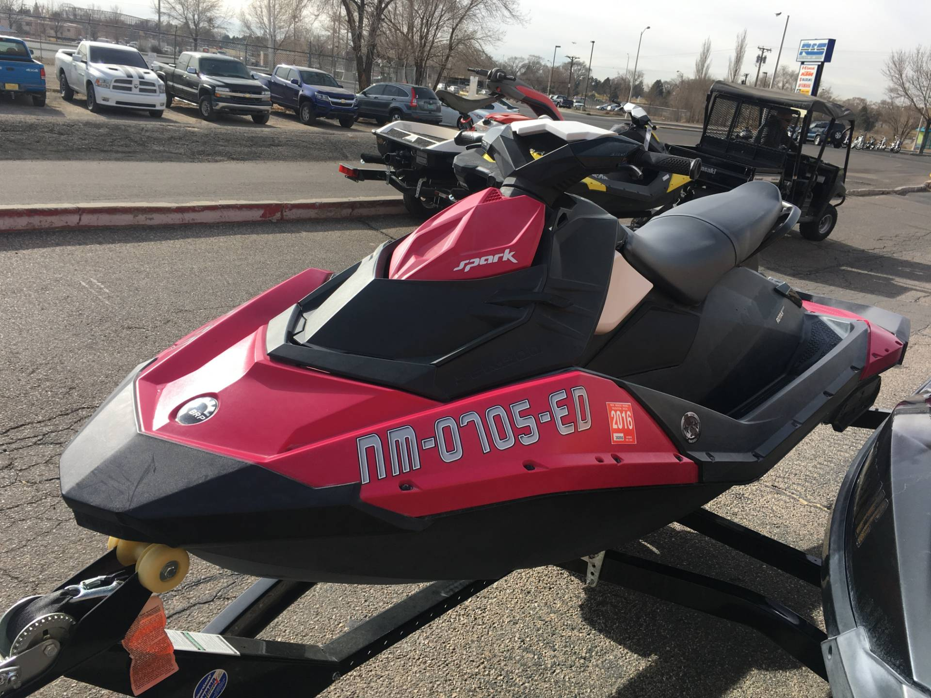 2014 Sea-Doo Spark™ 3up 900 H.O. ACE™ iBR Convenience Package in Albuquerque, New Mexico