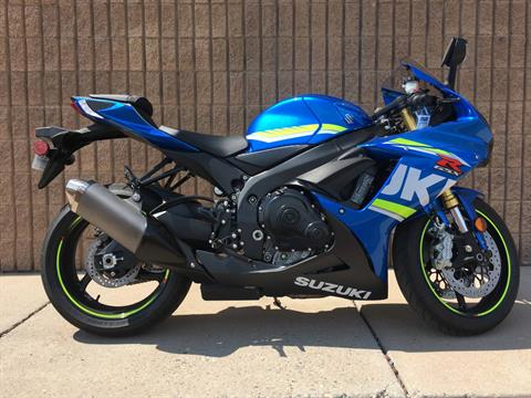 2017 Suzuki GSX-R750 in Albuquerque, New Mexico