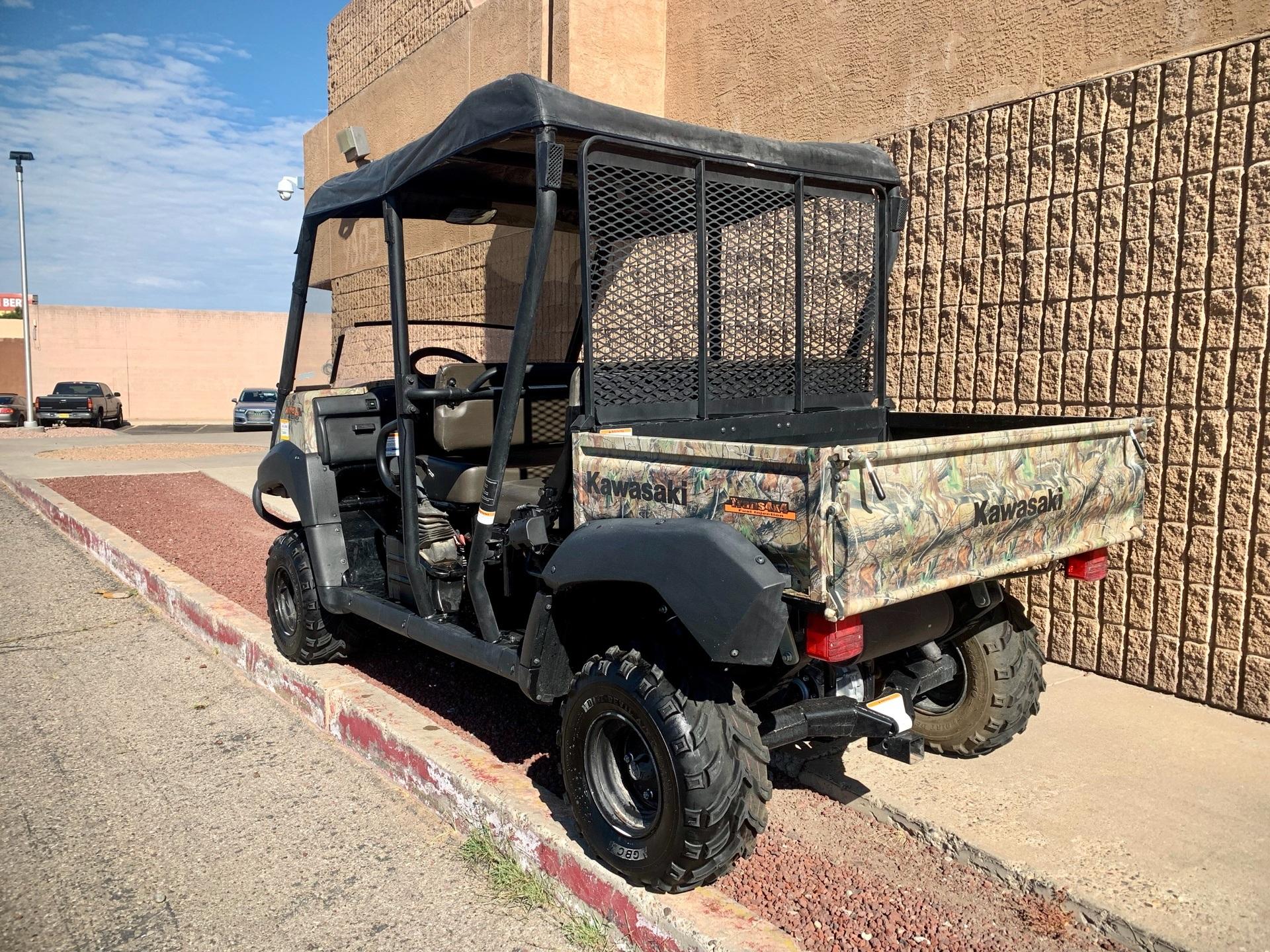 2014 Kawasaki Mule™ 4010 Trans4x4® Camo in Albuquerque, New Mexico