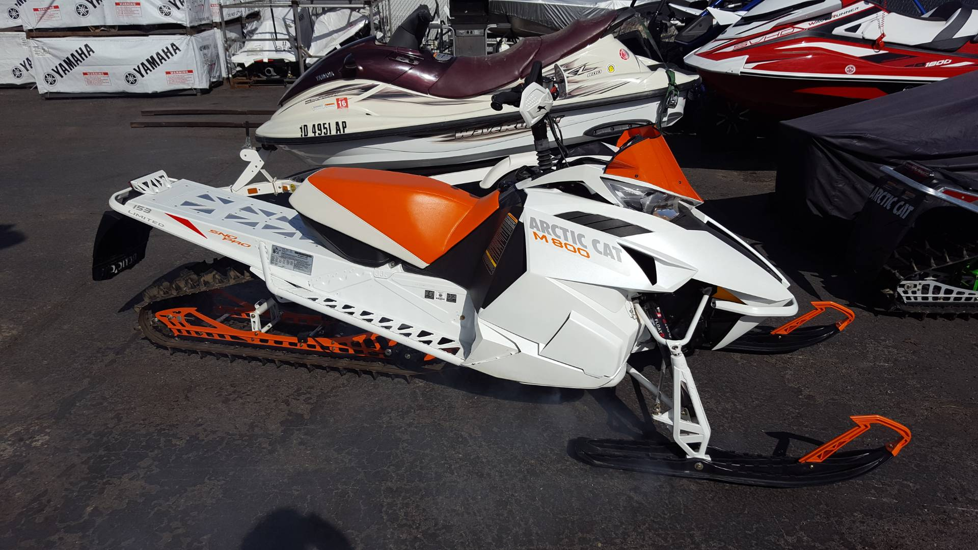 "2012 M 800 Sno Pro 153"" Limited"