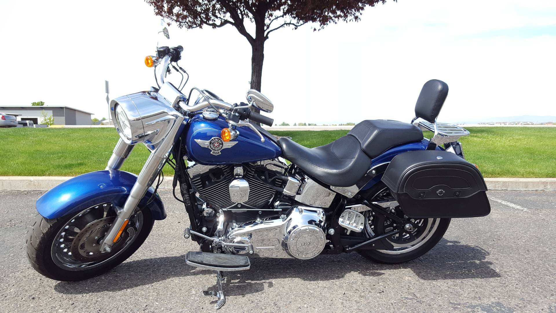 2015 Harley-Davidson Fat Boy® in Meridian, Idaho