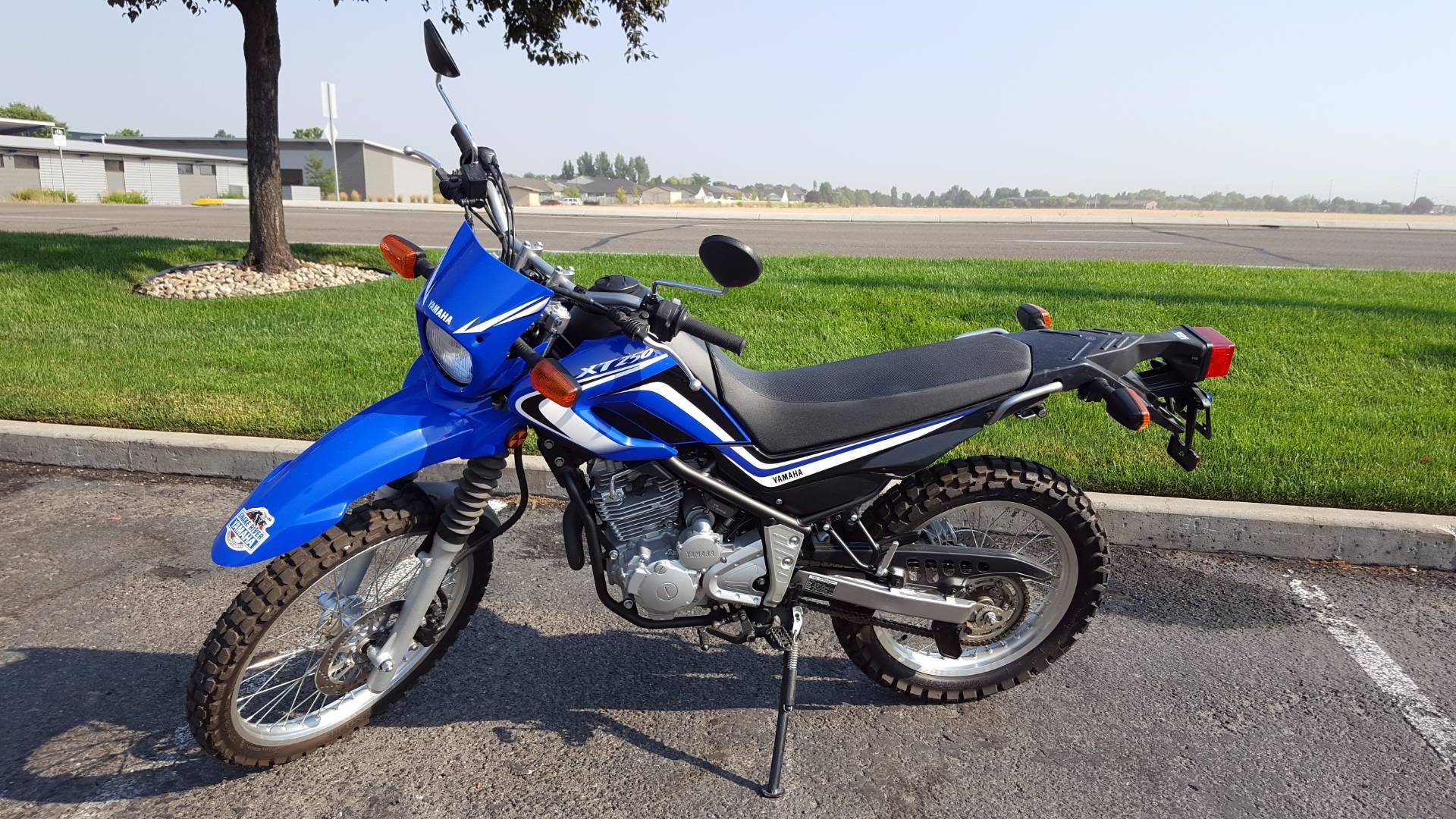 2014 Yamaha XT250 1