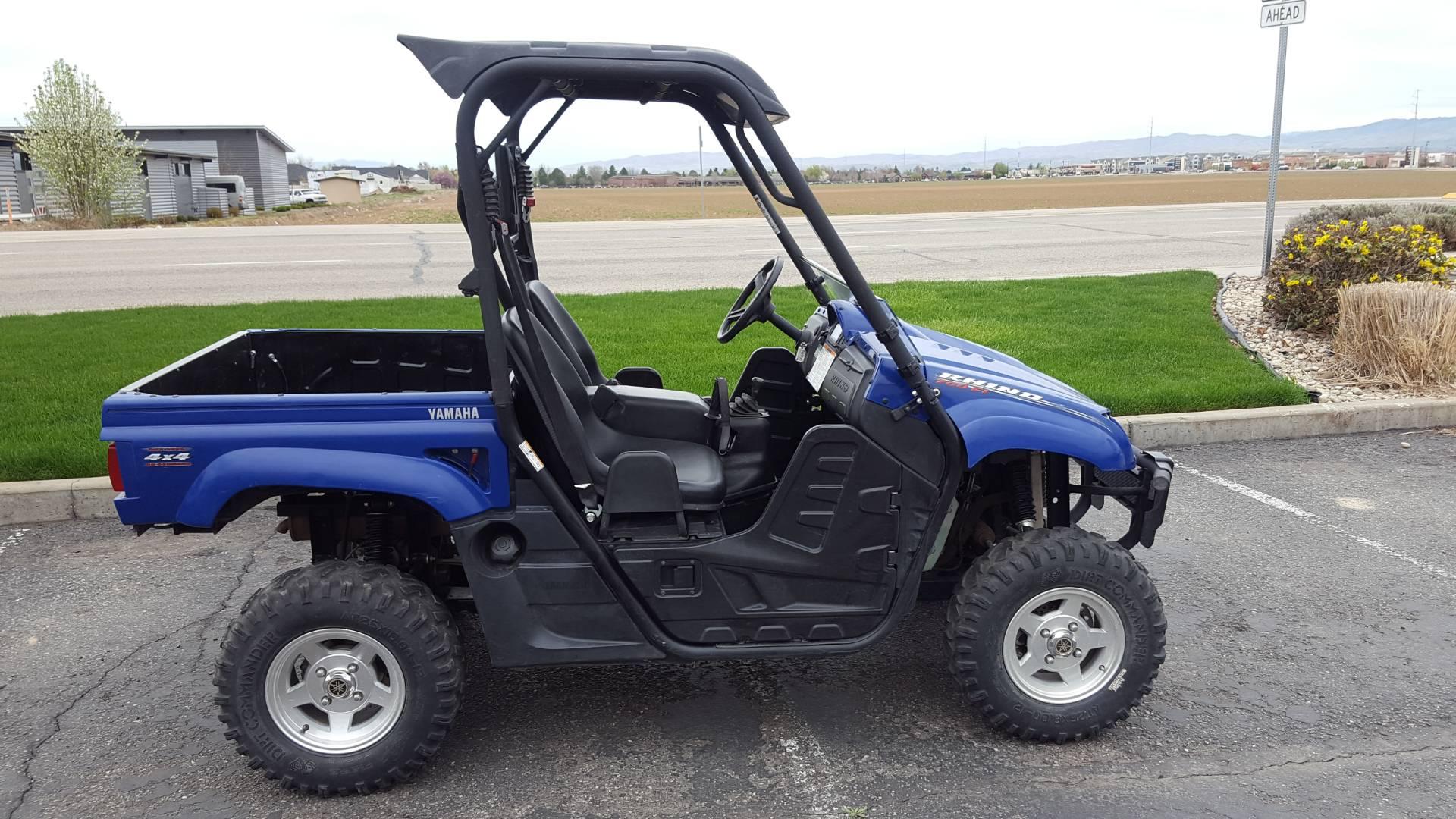 2012 Rhino 700 FI Auto. 4x4