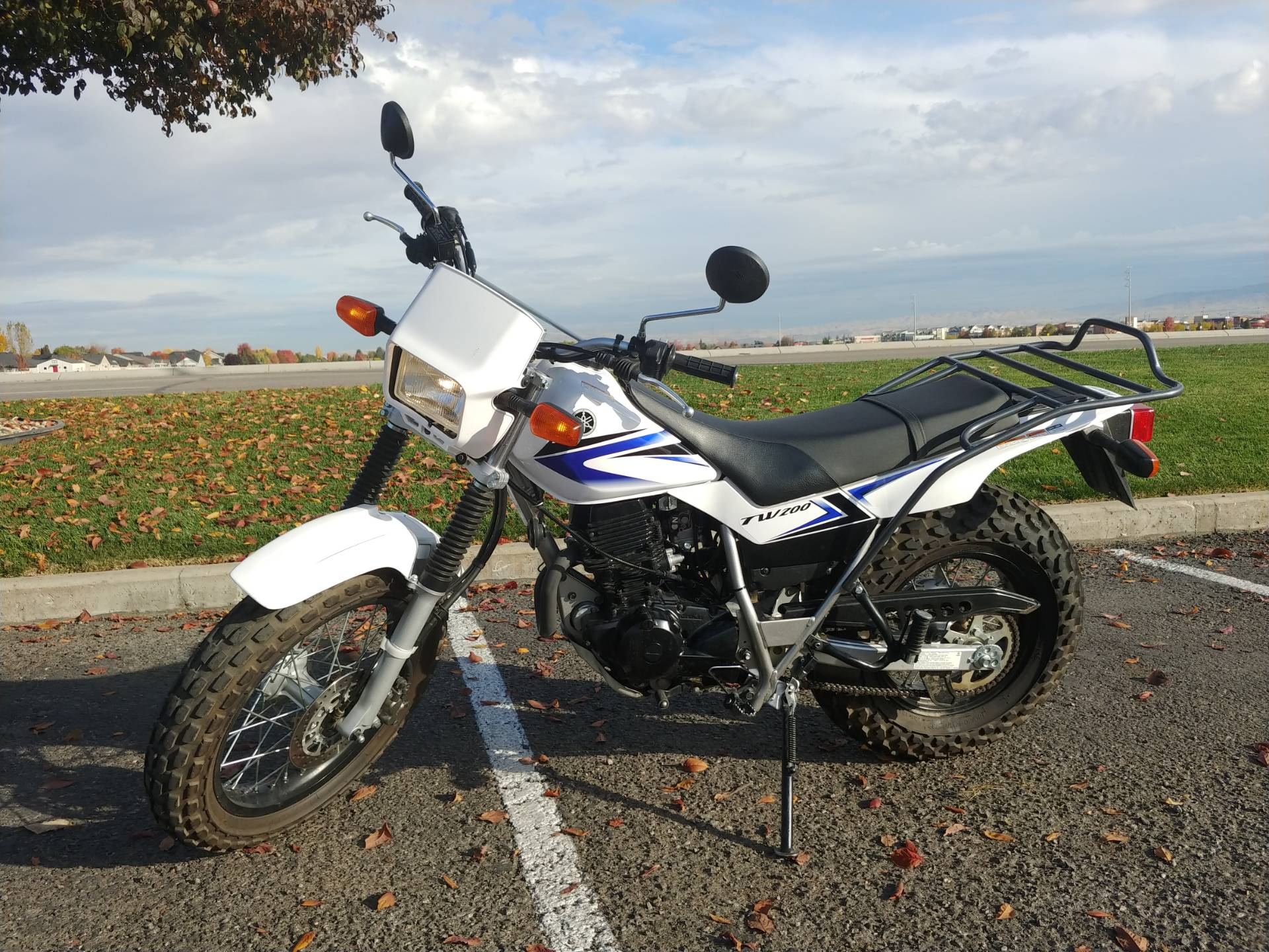 2012 Yamaha TW200 for sale 9457