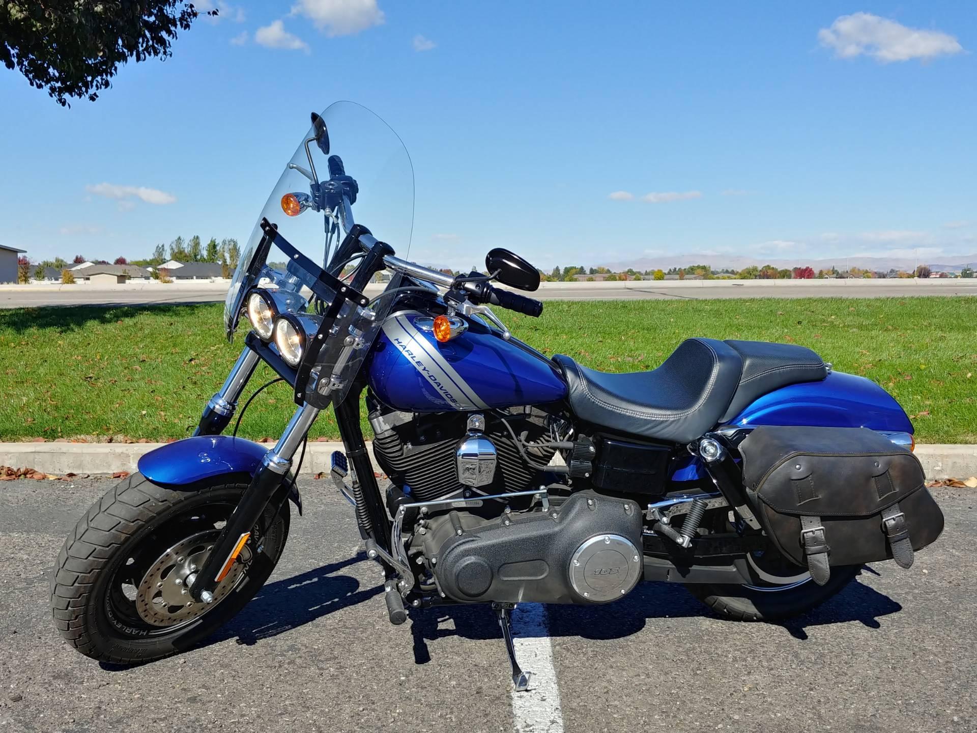 Used 2015 Harley Davidson Fat Bob Motorcycles In Meridian Id Boy Idaho