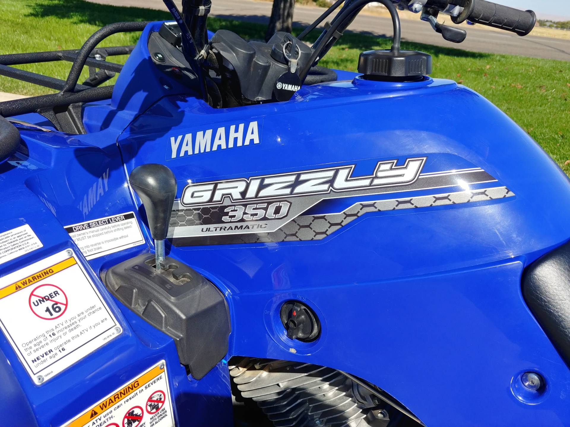 Yamaha Grizzly 350 Owners Manual 1998 600 Ultramatic Wiring Diagram 2014 2wd In Meridian Idaho