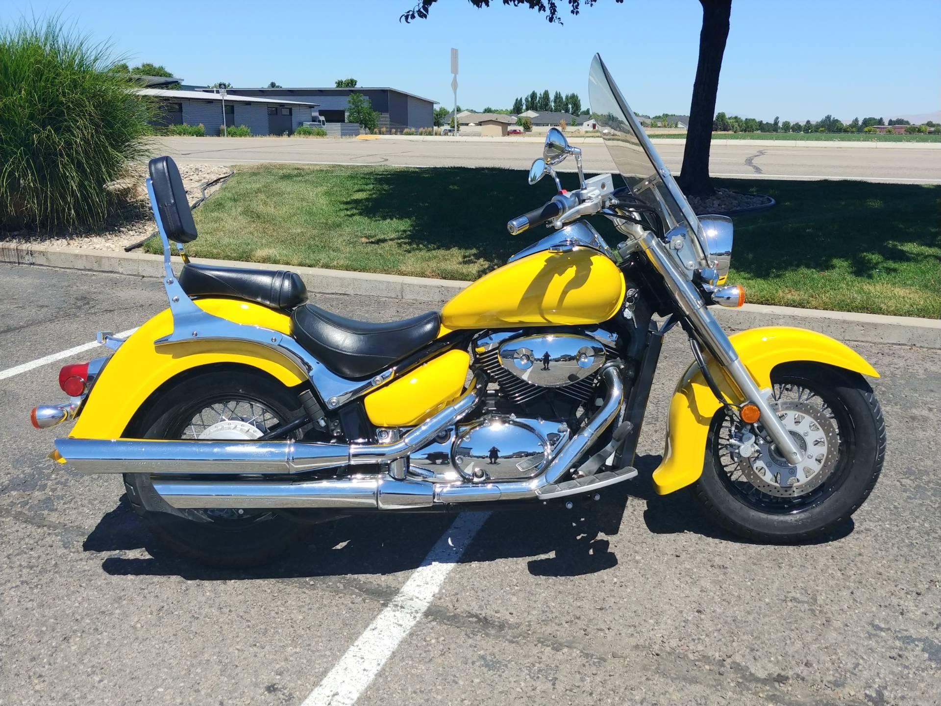 Used 2008 Suzuki Boulevard C50 Black Motorcycles in Meridian, ID