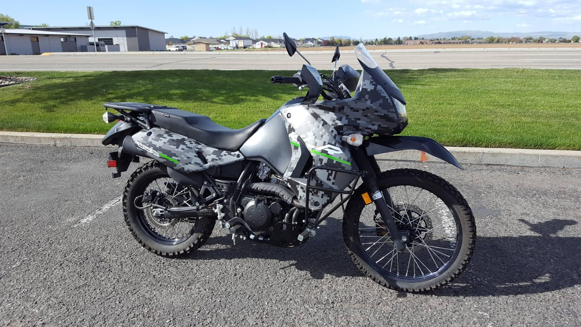 2016 KLR 650 Camo