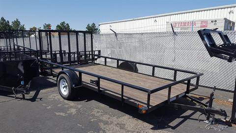 2018 Big Tex Trailers 7X14 UTILITY in Meridian, Idaho