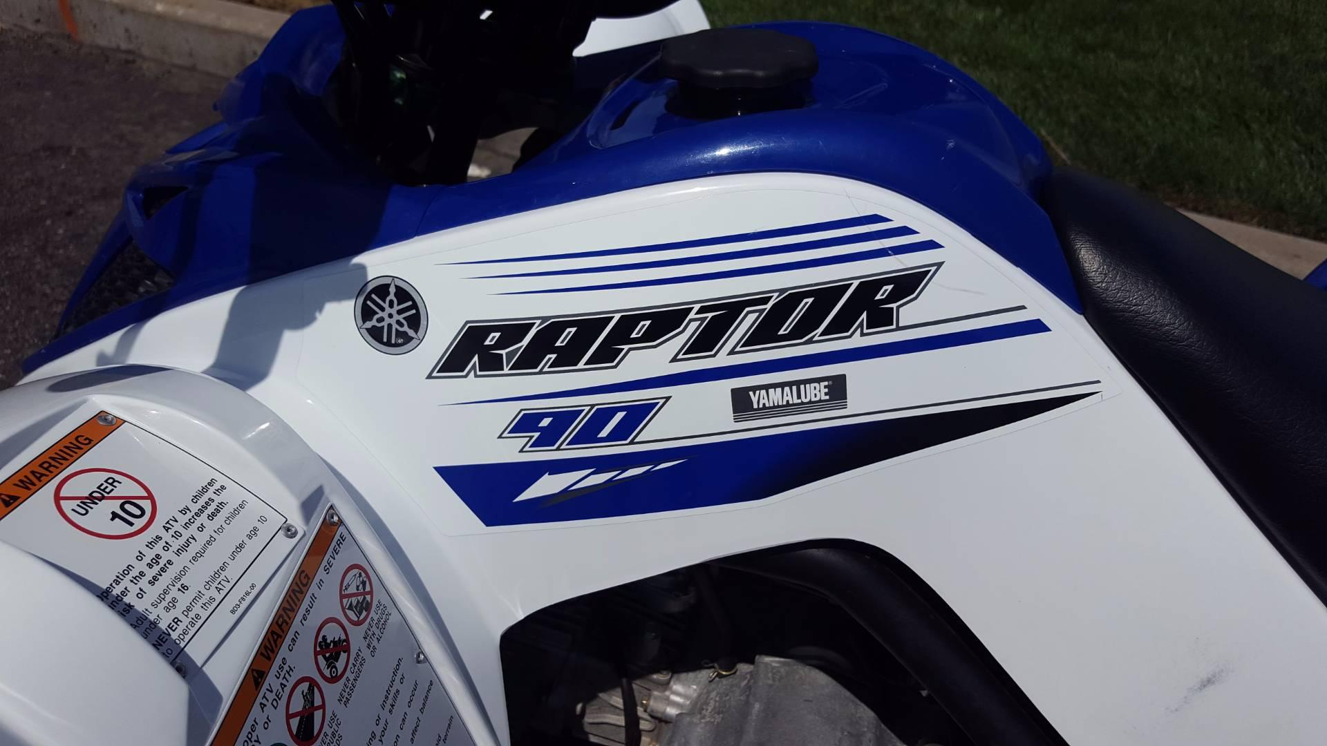2016 Yamaha Raptor 90 3