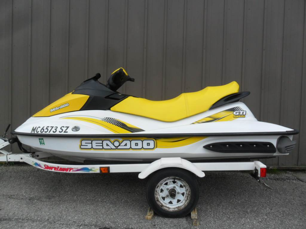 2007 Sea-Doo GTI 130 in Baldwin, Michigan