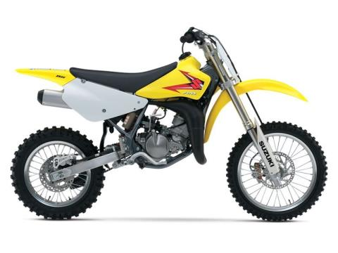 2015 Suzuki RM85 in Baldwin, Michigan