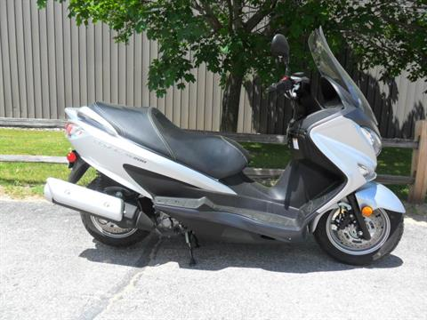 2014 Suzuki Burgman™ 200 ABS in Baldwin, Michigan