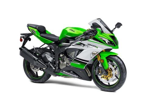 2015 Kawasaki Ninja® ZX™-6R ABS 30th Anniversary in Baldwin, Michigan