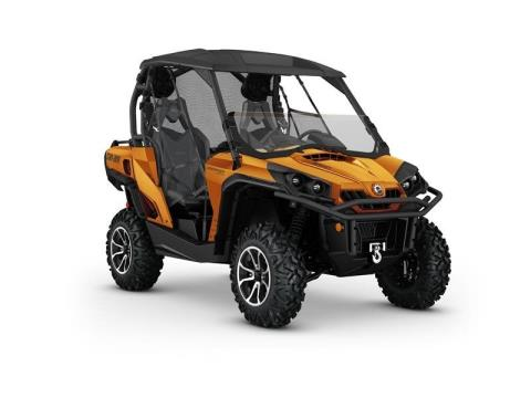 2016 Can-Am Commander Limited 1000 in Baldwin, Michigan