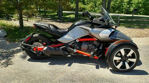 2015 Can-Am Spyder® F3-S SM6 in Baldwin, Michigan