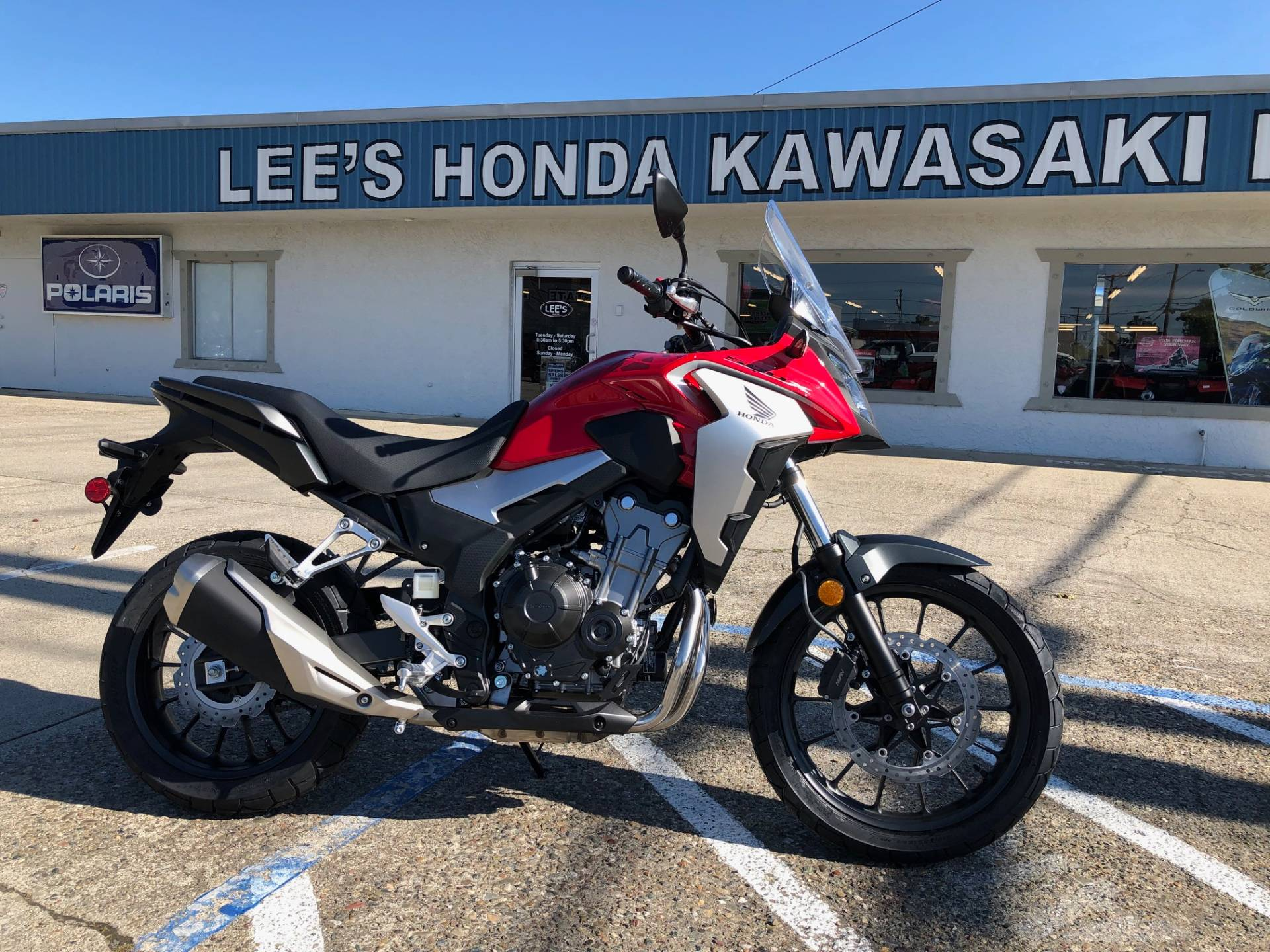 2019 Honda CB500X in Redding, California - Photo 1