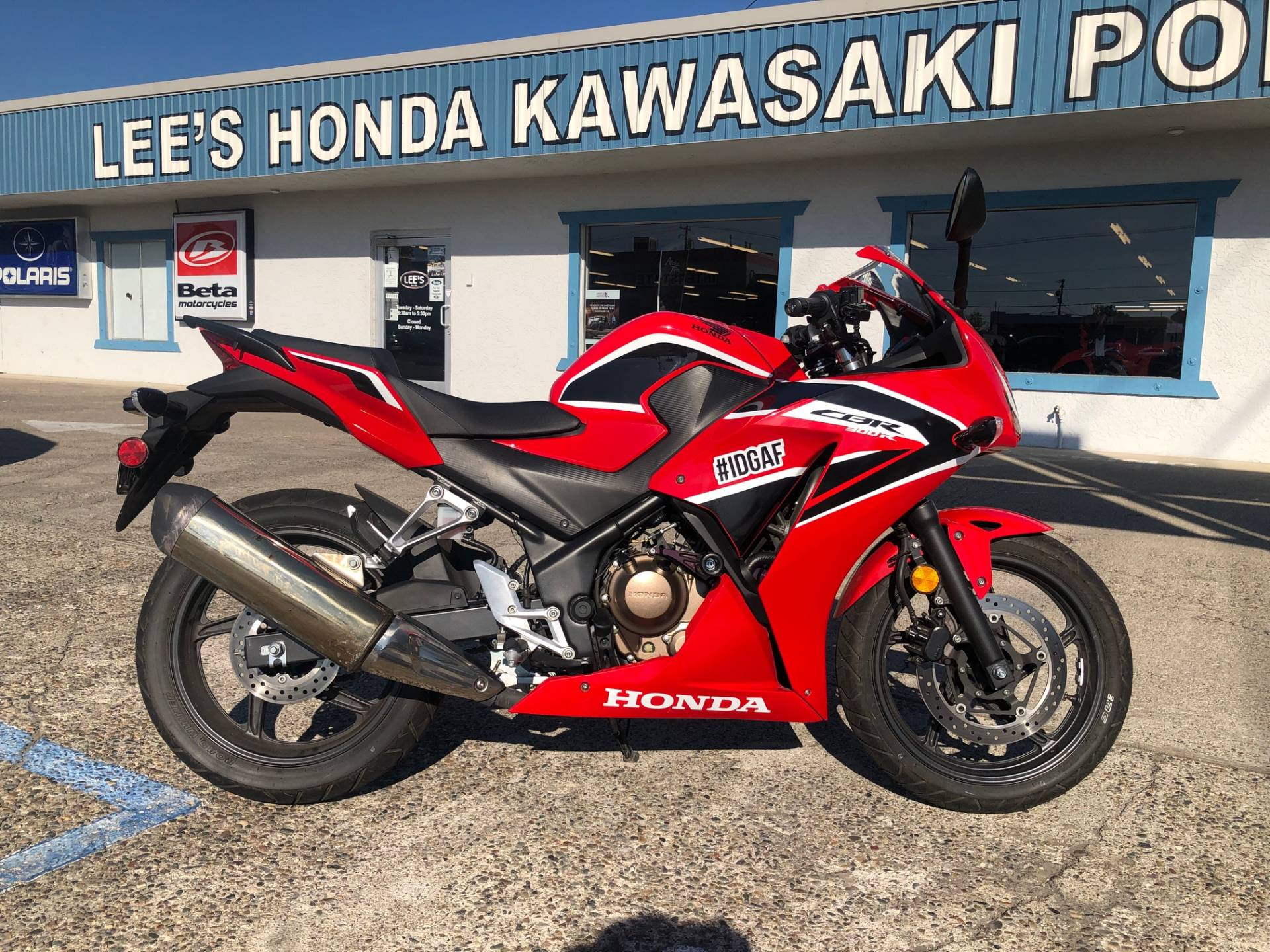 2017 Honda CBR300R in Redding, California - Photo 2