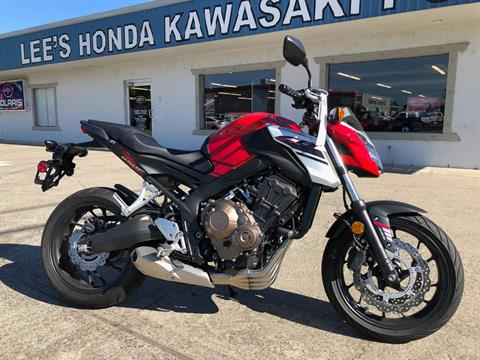 2018 Honda CB650F ABS in Redding, California - Photo 1