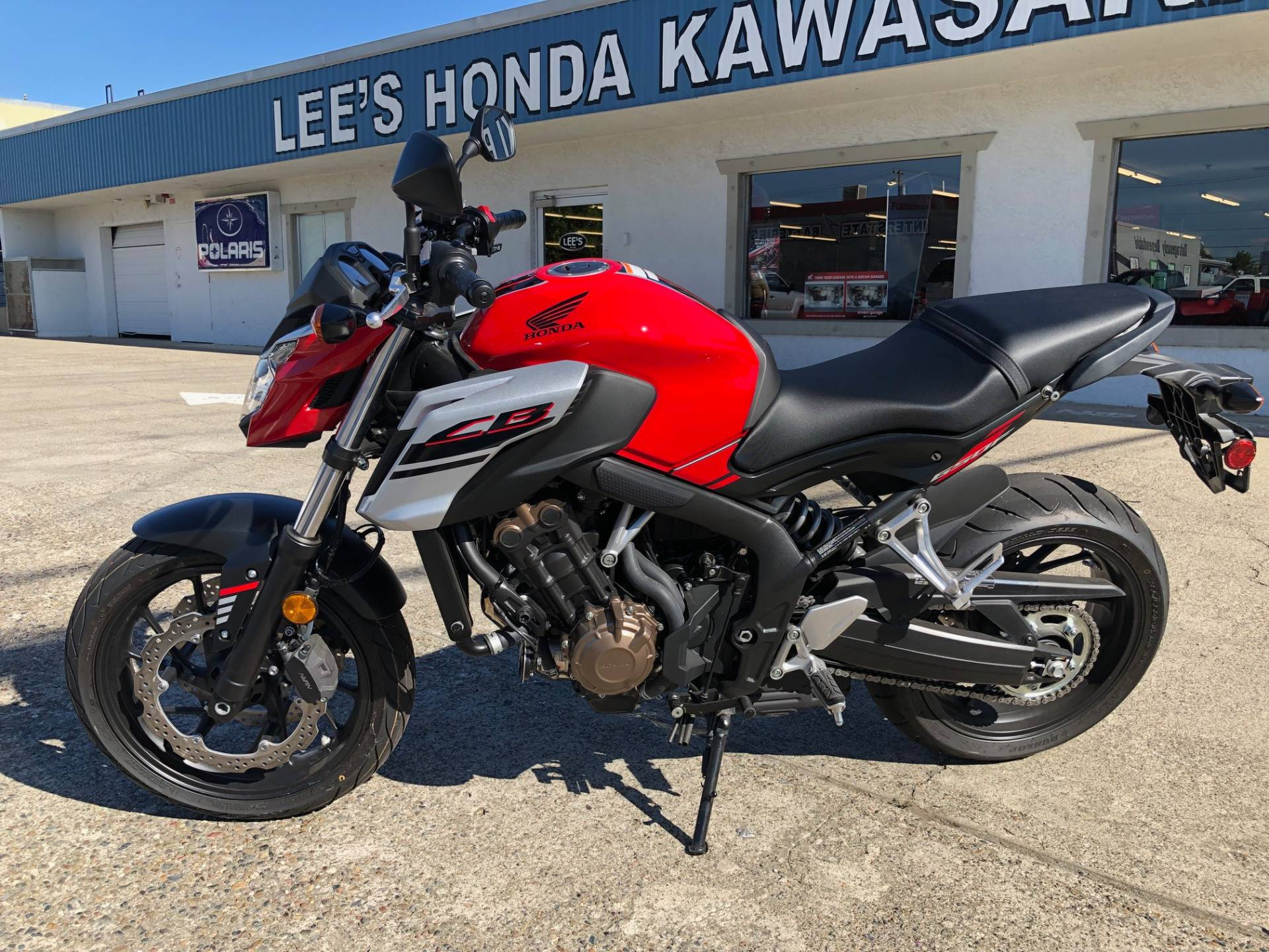 2018 Honda CB650F ABS in Redding, California - Photo 2
