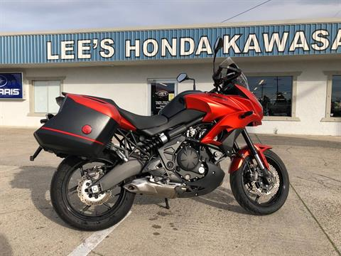 2016 Kawasaki Versys 650 LT in Redding, California
