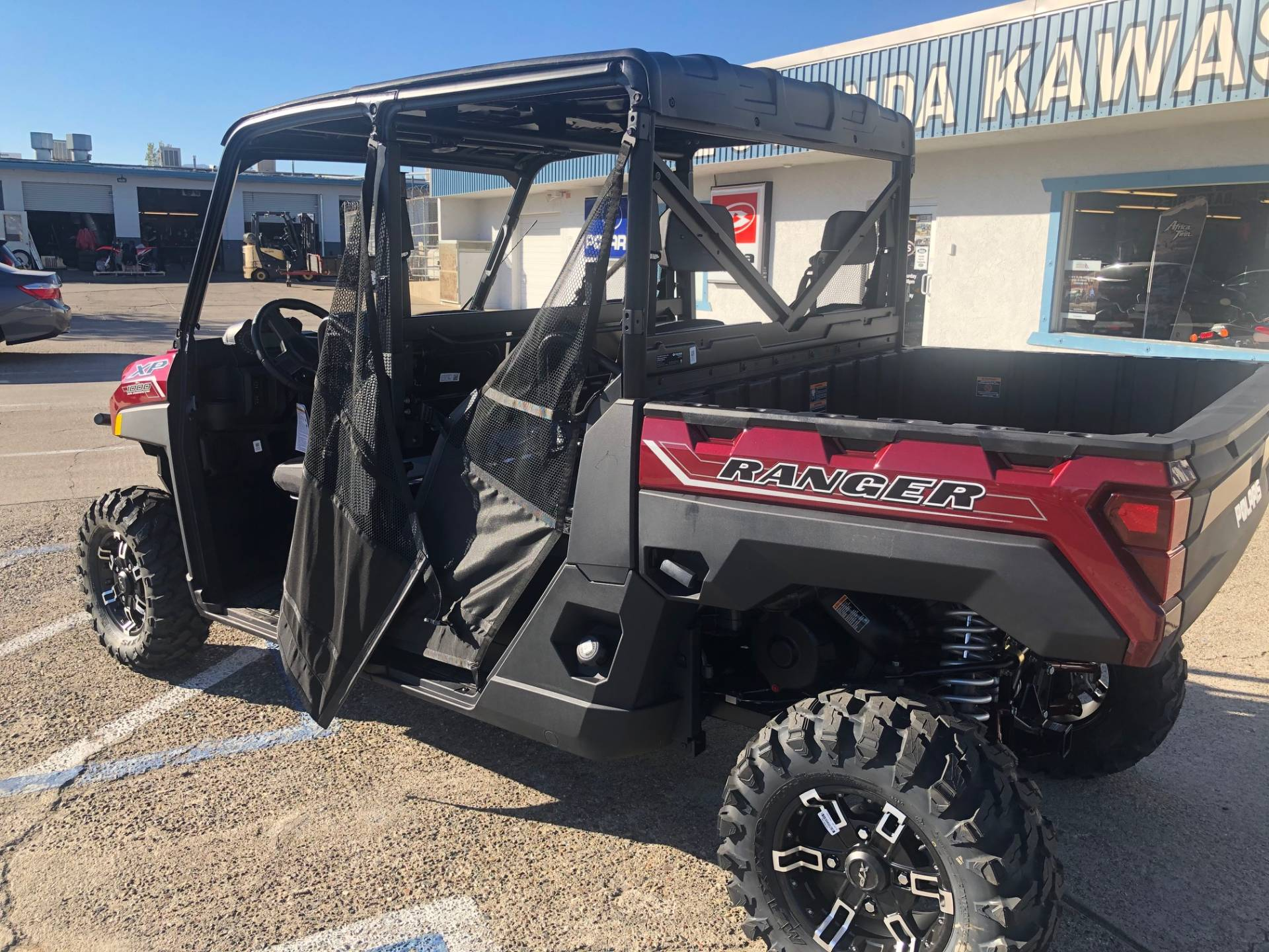 2021 Polaris Ranger Crew XP 1000 Premium + Ride Command Package in Redding, California - Photo 1