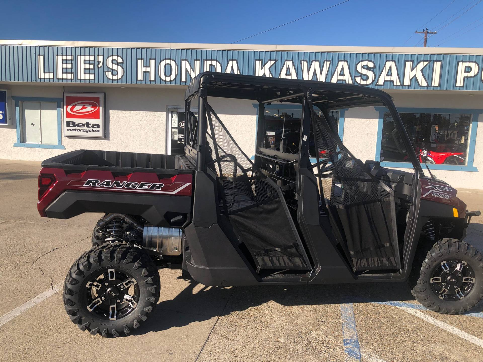 2021 Polaris Ranger Crew XP 1000 Premium + Ride Command Package in Redding, California - Photo 3