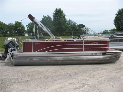 2016 Harris Flotebote 220 Cruiser DLDH in Manitou Beach, Michigan