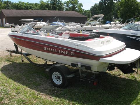 2012 Bayliner 195 in Manitou Beach, Michigan