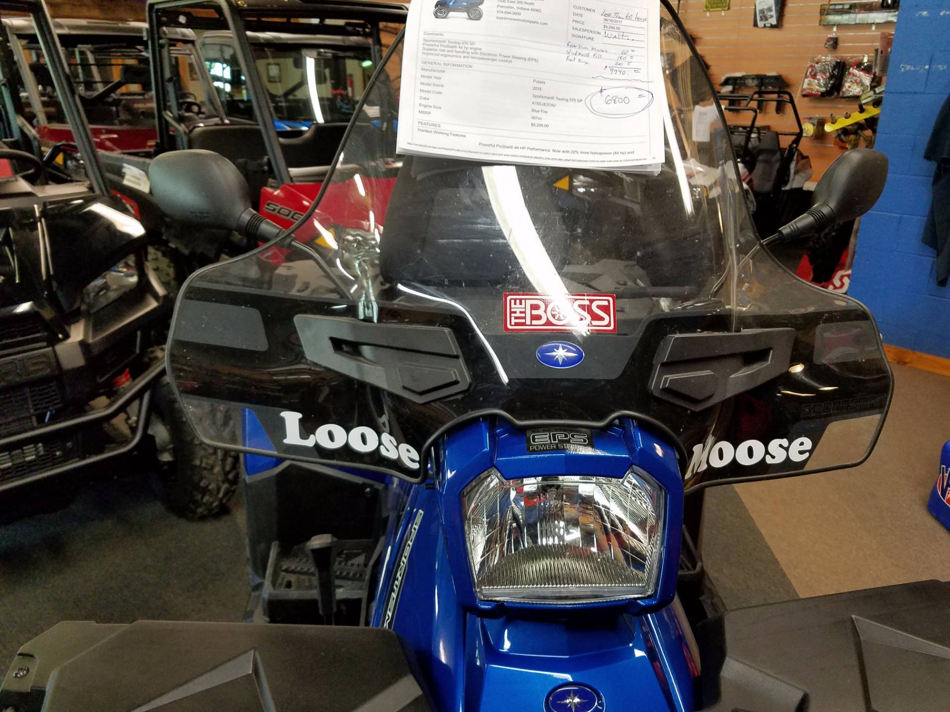 2015 Polaris Sportsman Touring 570 SP 4