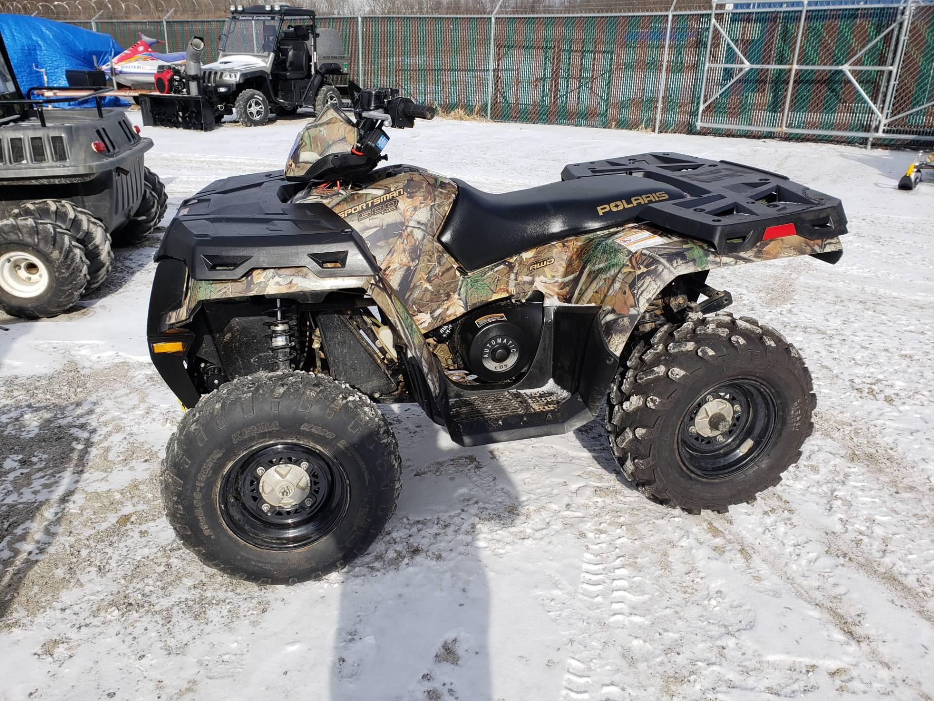 Used 2013 Polaris Sportsman 500 HO ATVs in Pierceton, IN | Stock