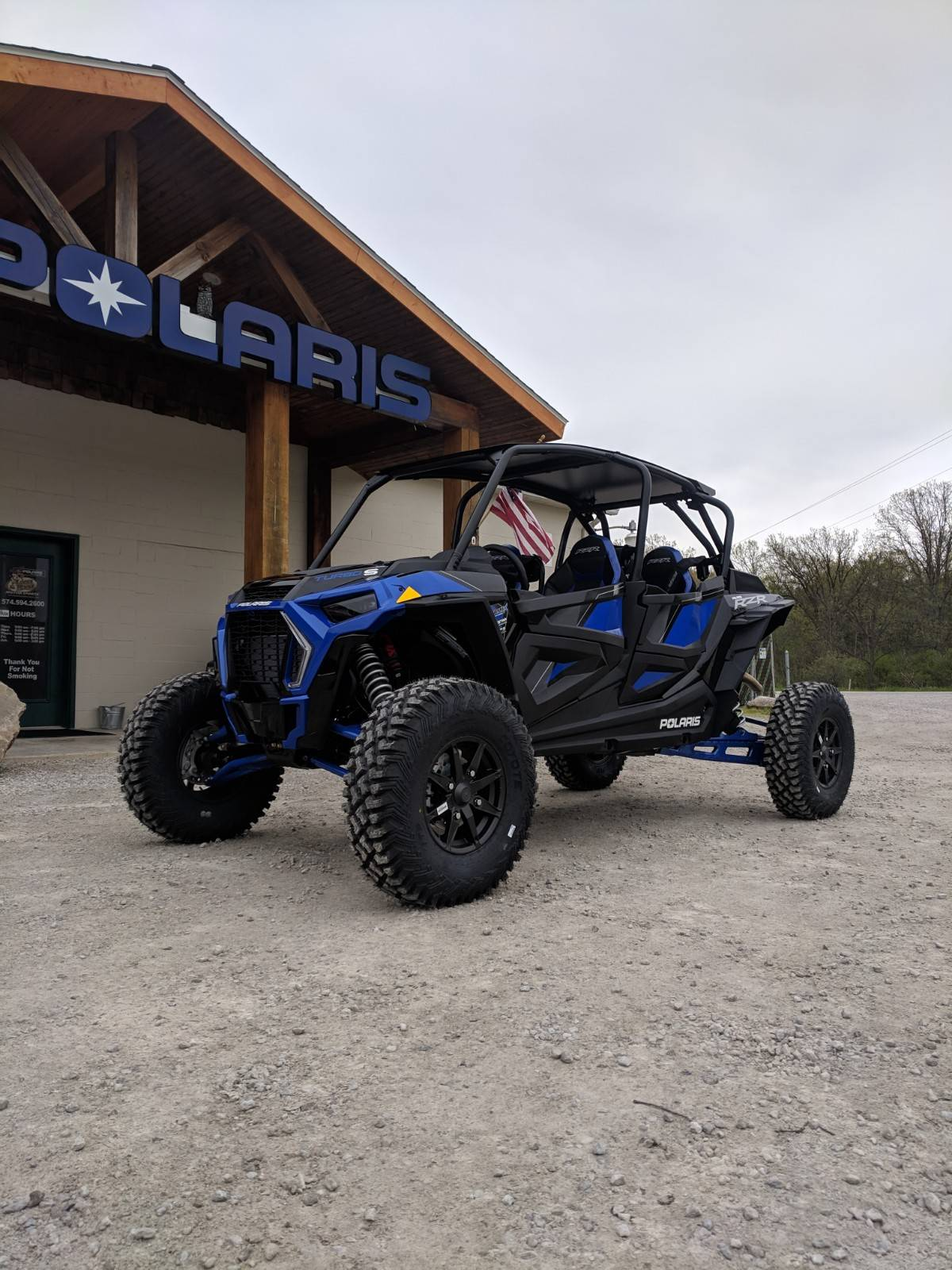 2019 Polaris RZR XP 4 Turbo S in Pierceton, Indiana - Photo 1