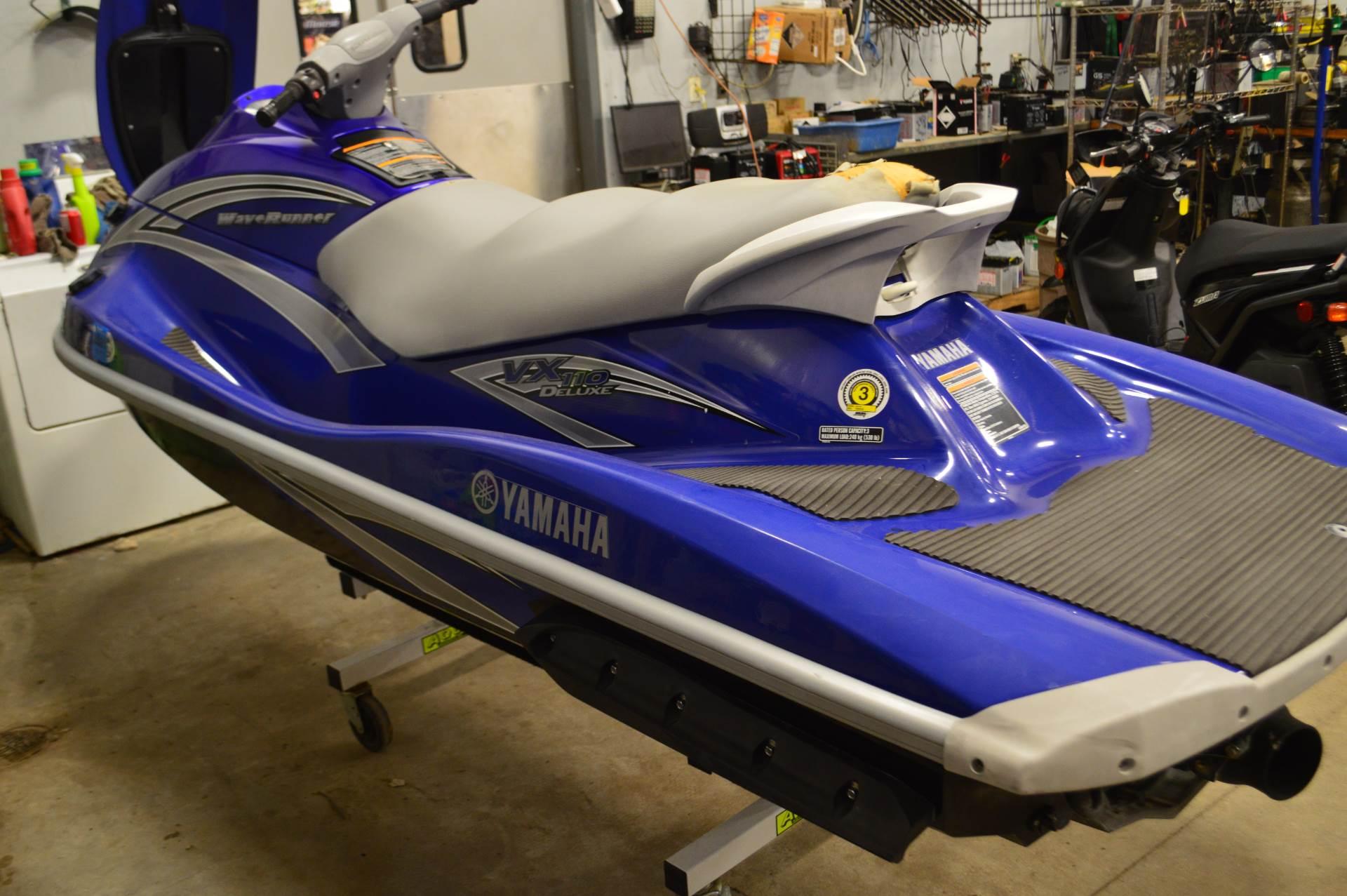 2006 Yamaha VX 110 Deluxe 3