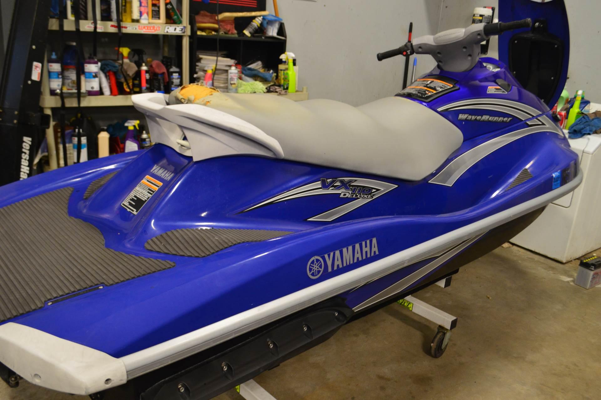 2006 Yamaha VX 110 Deluxe 4