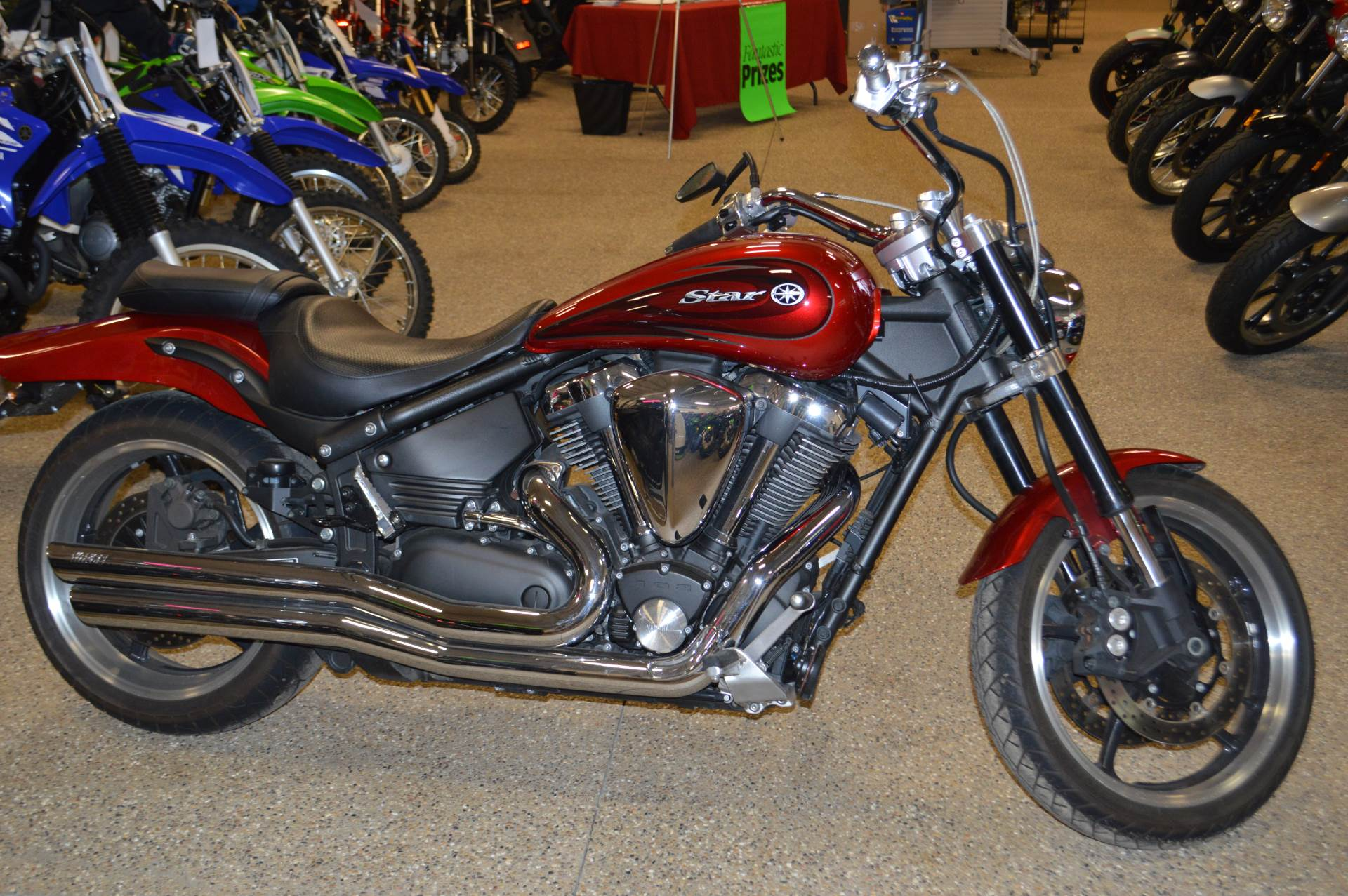 2008 Yamaha Road Star in Darien, Wisconsin