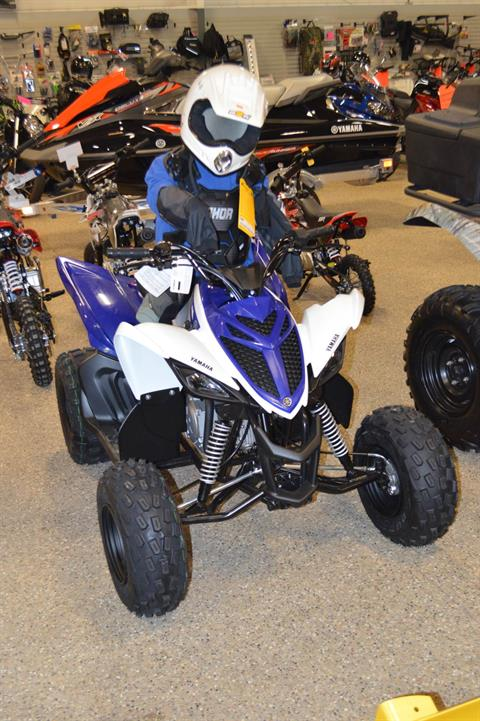 2018 Yamaha Raptor 90 in Darien, Wisconsin