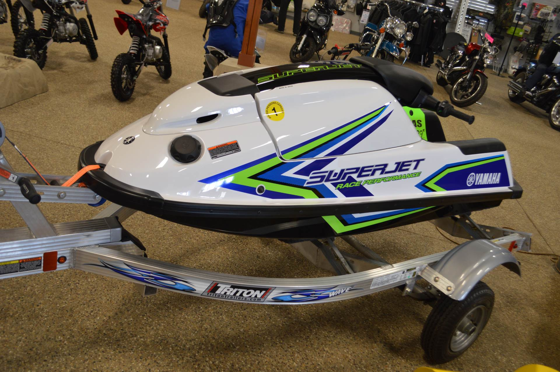 2018 Yamaha SuperJet in Darien, Wisconsin