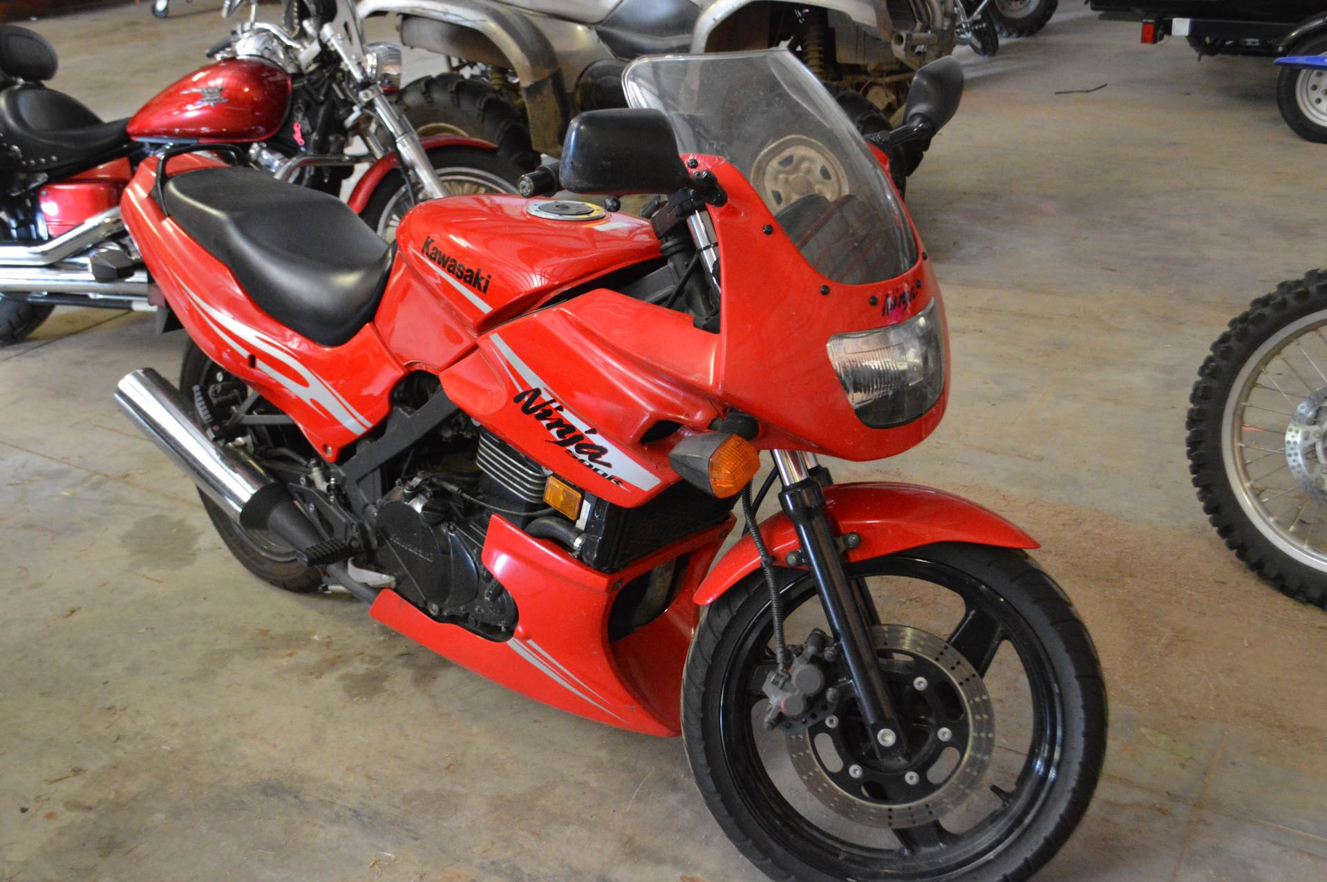 2008 Kawasaki Ninja® 500R in Darien, Wisconsin - Photo 1