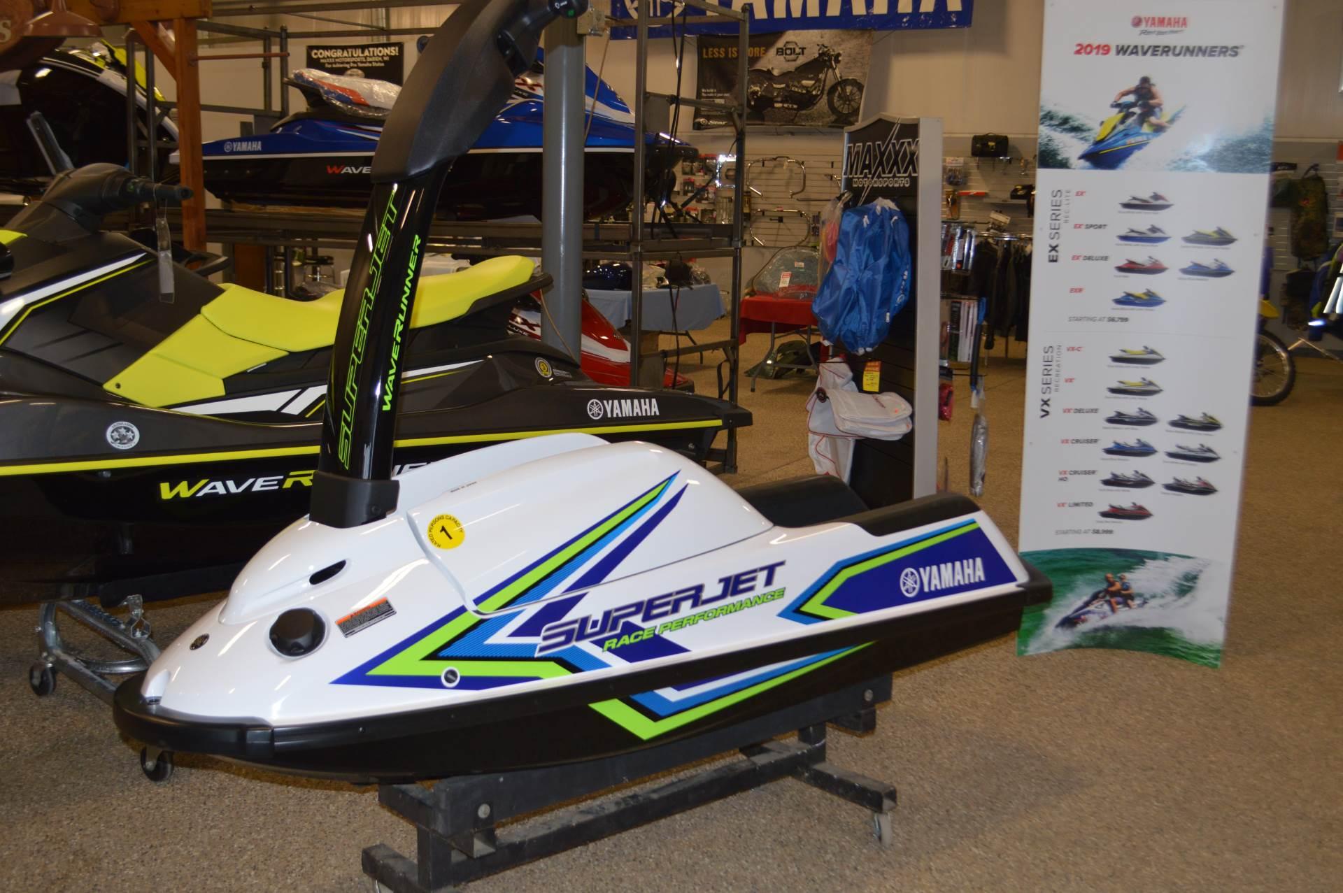 2019 Yamaha SuperJet in Darien, Wisconsin