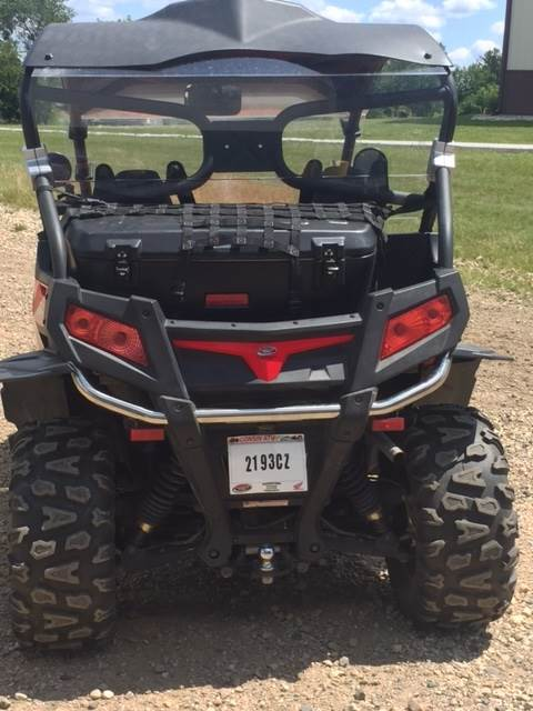 2013 CFMOTO ZForce 600EX in Darien, Wisconsin
