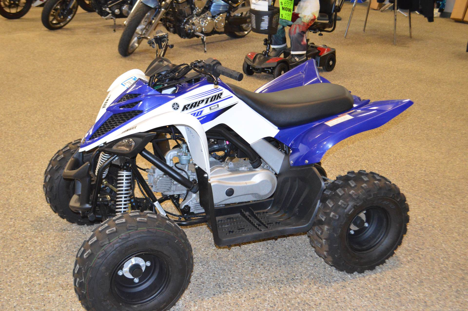 2016 Yamaha Raptor 90 for sale 208051