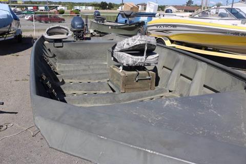 2010 WeldBilt 1648V in Bryant, Arkansas